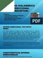 ANTENA INALAMBRICA DIRECCIONAL (Receptor).pptx
