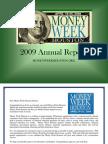 Money Week Houston 2009 Annual Report