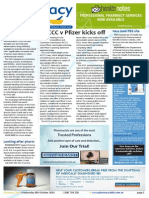 "Pharmacy Daily for Wed 08 Oct 2014 - ACCC v Pfizer kicks off, Stronger NSAID labels for heart risk?, PBS pricing report ""misleading"", Health, Beauty and New Products, and much more"
