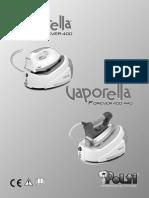 Manual Vaporella 400 Pro