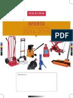 Folleto Maxima Exclusivas Otoño 2014 Invierno 2015.pdf
