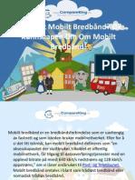 Hva Er Et Mobilt Bredbånd Øk Kunnskapen Din Om Mobilt Bredbånd!