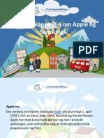 Øk Kunnskapen Din Om Apple Og Samsung!