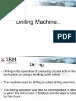 Drilling SRM Univiersity