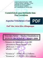 Aula de Contabilidade do Terceiro Setor - Aspectos Tributários 2013.ppt