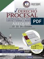 XIV Congreso nacional de Derecho Procesal [Perú]