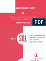 SQL for Marketers & Growth Hackers