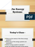 energy systems lesson