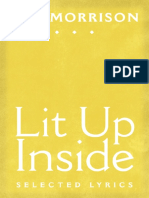 Foreword, Introduction, and Selections from Van Morrison's Lit Up Inside