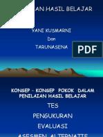 PENILAIAN HASIL dan PROSES BELAJAR(EVALUASI PEMBELAJARAN SEJARAH).ppt
