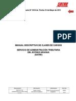 MANUAL DESCRIPTIVO DE CLASES DE CARGOS .doc