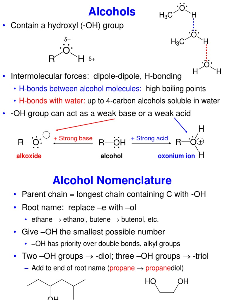 Alcohols, organic chemistry | Alcohol | Ketone