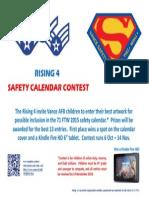 Safety Calendar Contest - Flyer (3 Oct)