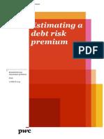 Estimating a Debt Risk Premium - PwC