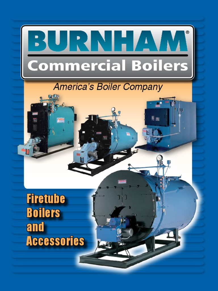 firetube-boilers-and-accessories-catalog.pdf | Boiler | Water Heating