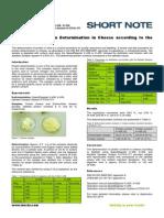 SN 021_2010 Nitrogen Determination in Cheese