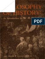 Philosophy of History - W.H. Walsh