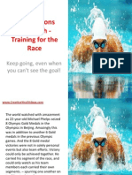 Bible Lessons for Youth - Training for the Race