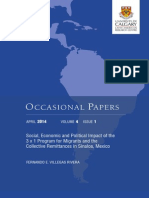 Social economic and political Impact of Collective Remittances in Sinaloa, Mexico