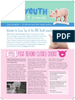 SAFE Youth Group Newsletter #2