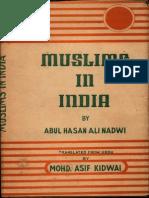 Muslims In India - Abul Hasan Ali Nadwi.pdf