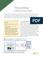 Aspen HYSYS Petroleum Refining Datasheet
