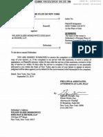 Complaint - Jodi Ritter v. Wilson Elser