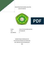 laporan argentometri