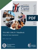 TSA Handbook