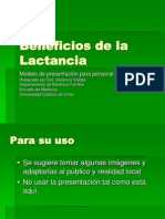 Mod 1Beneficios de la Lactancia 17 feb 05.ppt