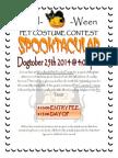 Halloween Sign Up Sheet Dogtober Spooktacular 2014