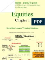 Intro to Equities Hand Out