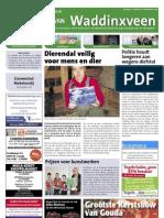 De Krant van Waddinxveen, 18 december 2009