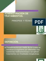 ADMINISTRACIÓN DE TRATAMIENTOS 19 I Semestre..ppt