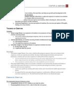 PSYC 1101 - (L8) Emotion Textbook Notes