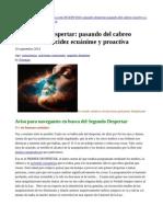 EL SEGUNDO DESPERTAR-Pasando del cabreo reactivo a la lucidéz ecuánime y proactiva.pdf