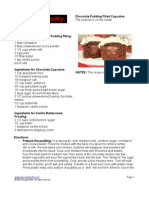 Betty Chocolate Pudding Cupcakes Recipe