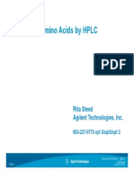 Analysis of Amino Acid by HPLC
