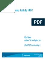 Analysis of Amino Acid by HPLC