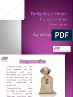 Designing a Simple Compensation Structure