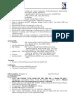 VMAX resume