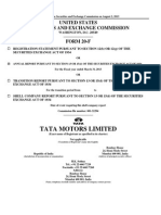 Tata Motors 20 f 2013