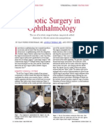 Robotic Surgery in Ophthalmology, Angelo Tsirbas MD