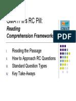 GMATPill's RC Frameworks
