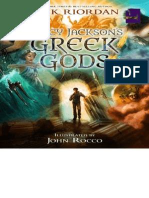 Percy Jackson's Greek Gods   Rick Riordan   Greek Mythology