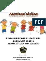 Printout Musyawarah