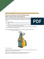Mesin Vertical Injection Moulding