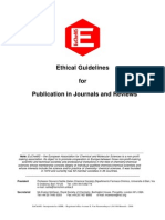 Publishing Ethics guidelines