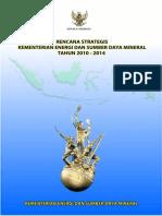 RENSTRA KESDM 2010-2014 -- Final_280110.pdf