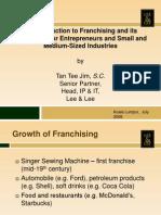 Franchising Presentation 1